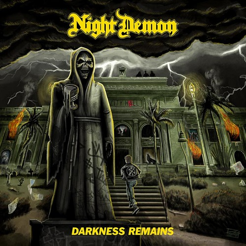 Cover: Night Demon - Darkness Remains