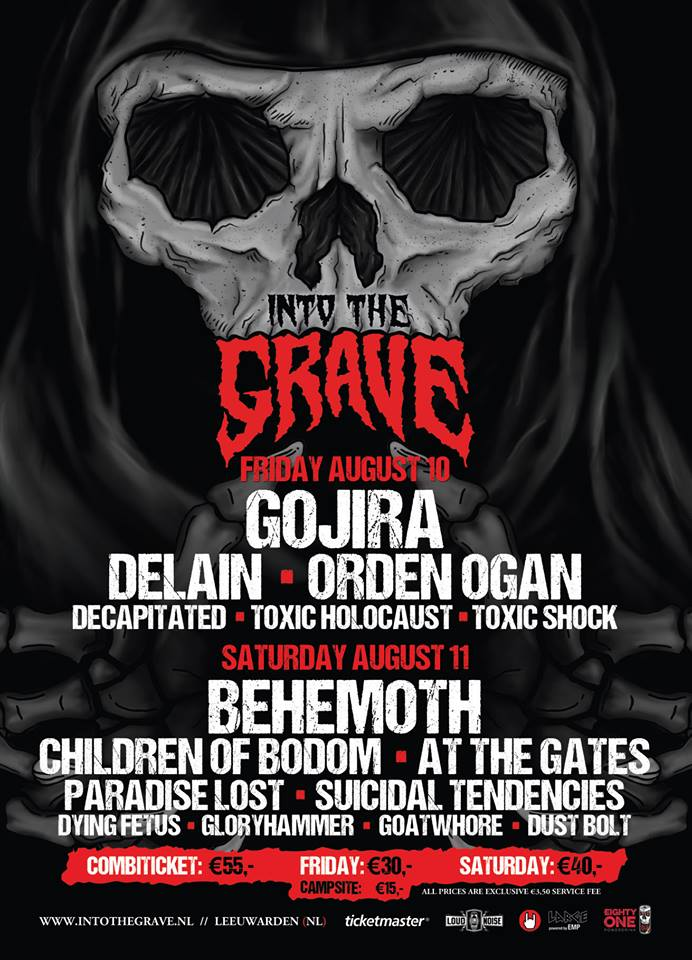 Flyer Into the Grave 2018